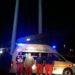 Arrivata a Montegallo la prima squadra di soccorritori della Croce Verde di Castelnovo