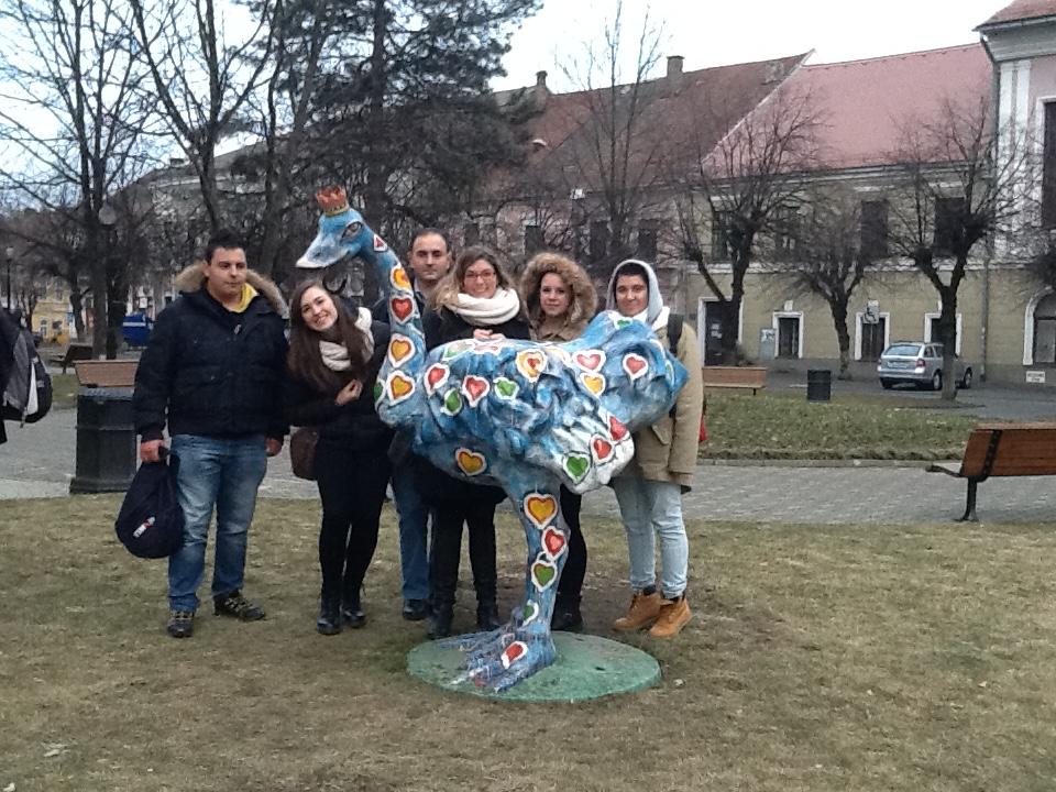 La delegazione in Romania