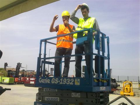 Patentino cestelli elevatori