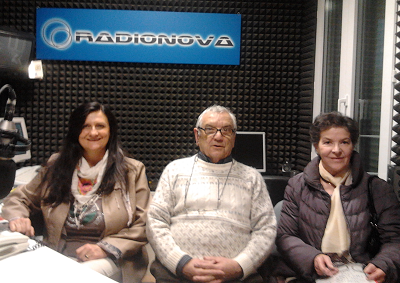 I conduttori Normanna Albertini Savino Rabotti Afra Campani