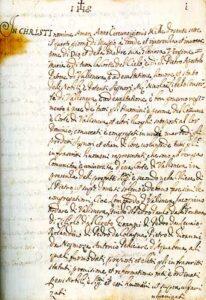 Lo Statuto della Corte di Vallisnera (Foto www.lacortedivallisnera.it)